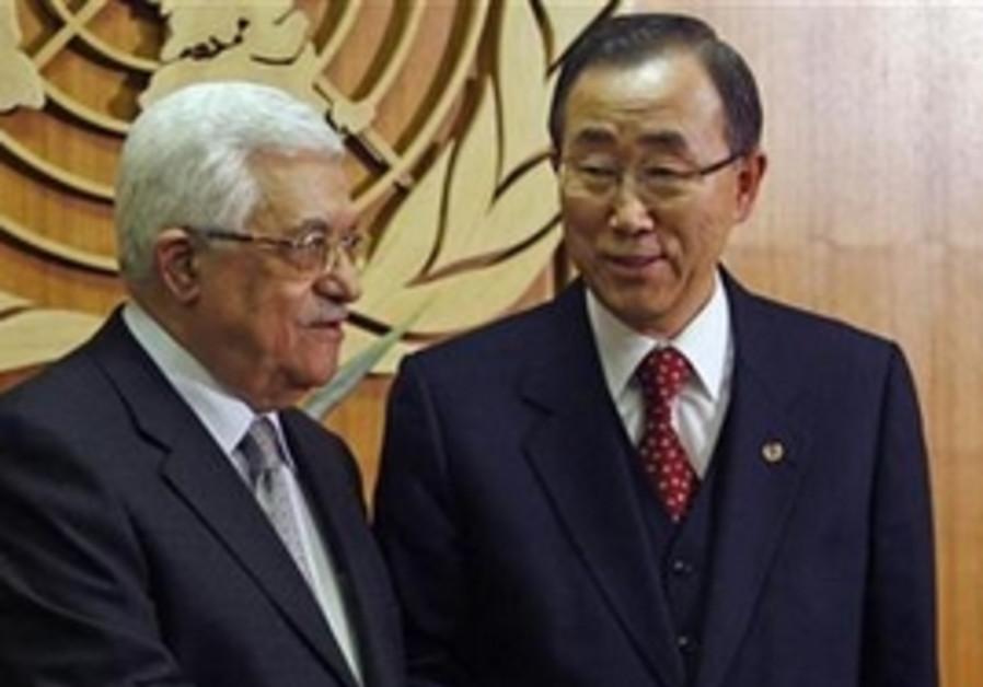 Abbas, Ban Ki-moon