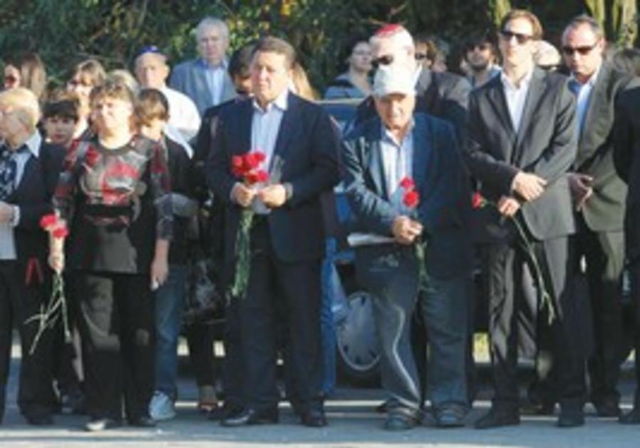 Tribute to the Jewish victims of Babi Yar