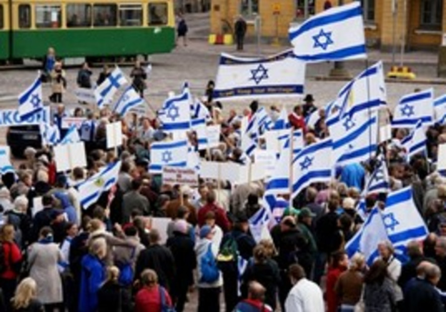 Pro-Israel rally in Finland 311