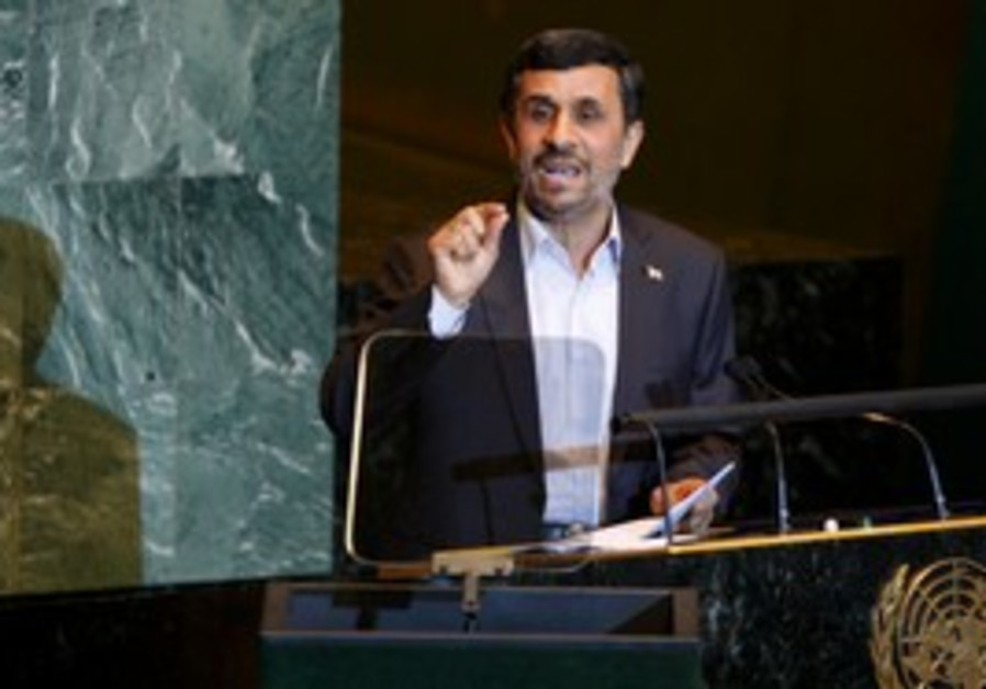 Iran's Ahmadinejad at UN General Assembly
