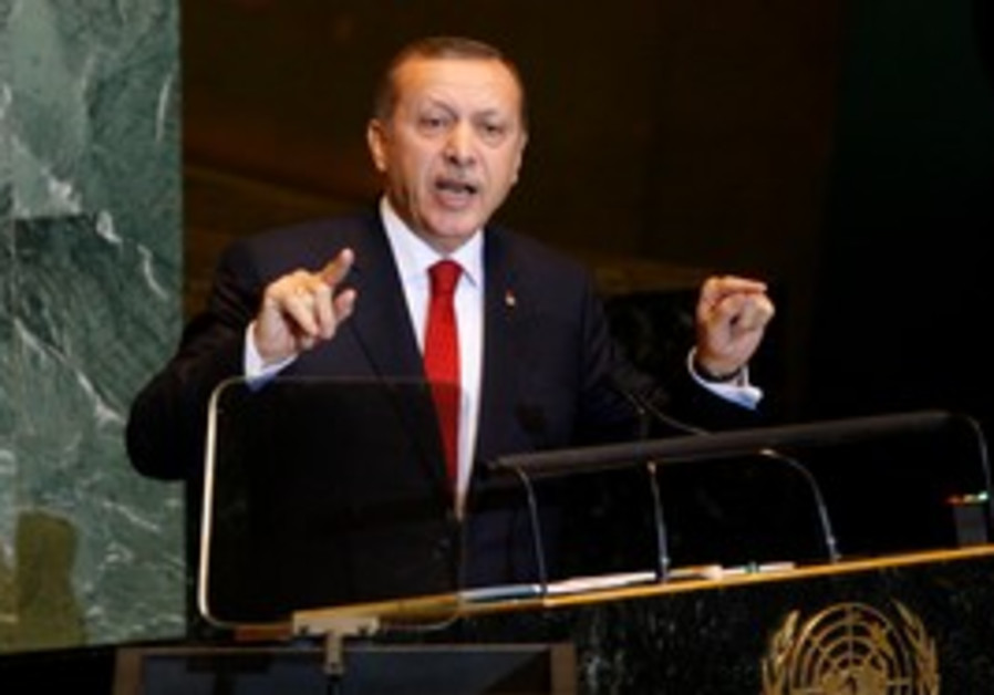 Turkey's Erdogan speaks at UN General Assembly