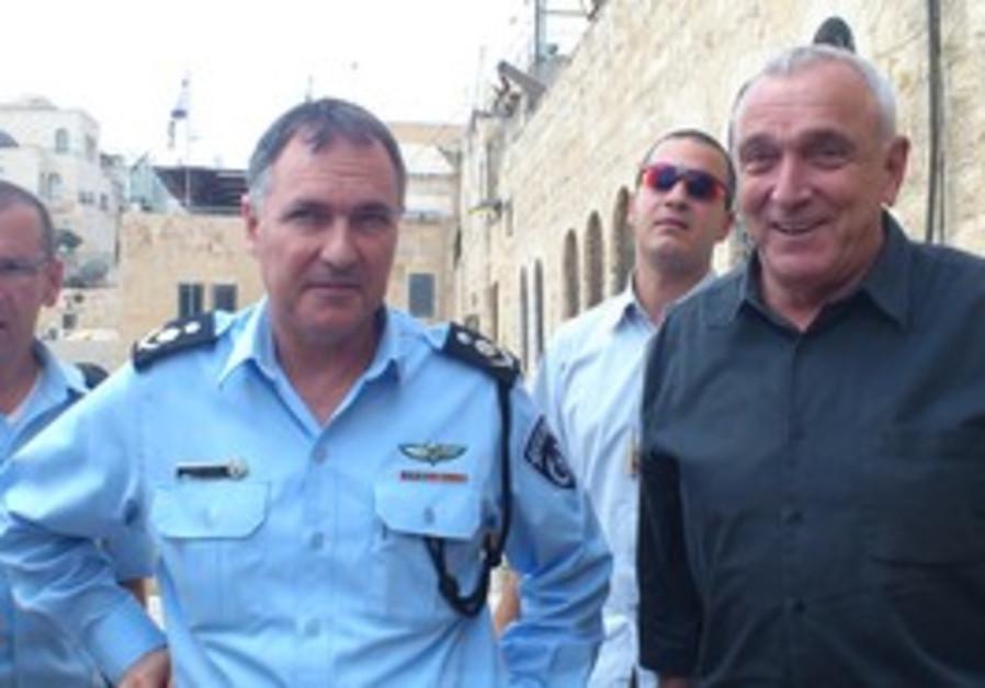 Ahronovitch, Danino meet in Jerusalem