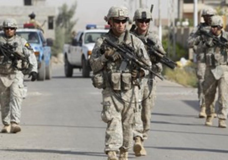US soldiers in Iraq [illustrative photo]