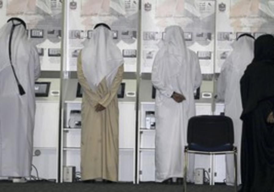 Emirati voters head to the polls.