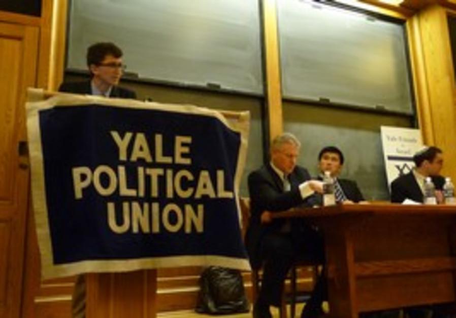 Yale Political Union votes against PA UN bid