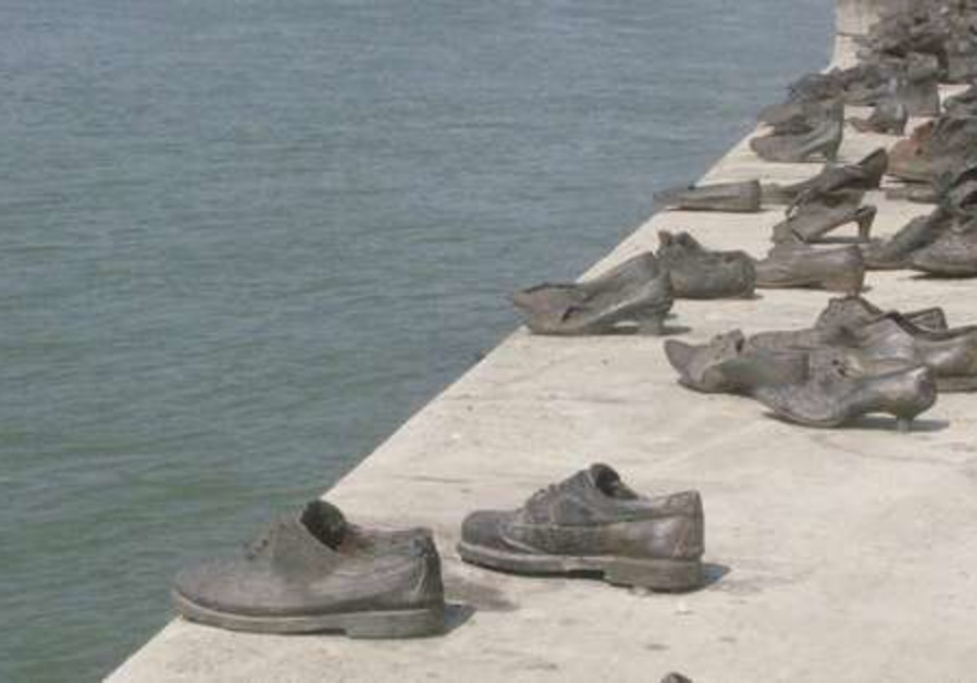 Danube Holocaust memorial for the Jews of Budapest