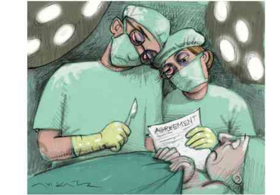 doctors scalpels surgeons cartoon 521