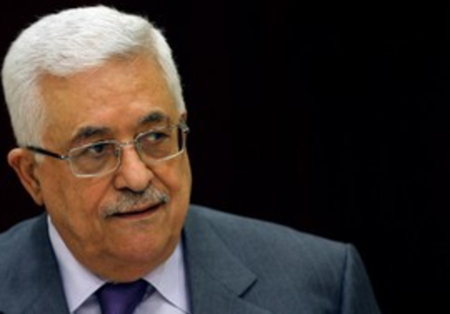 PA President Abbas at PLO Executive meeting