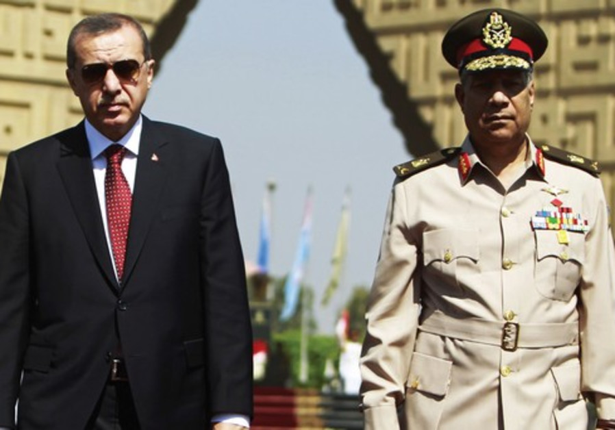 Erdogan visits Egypt
