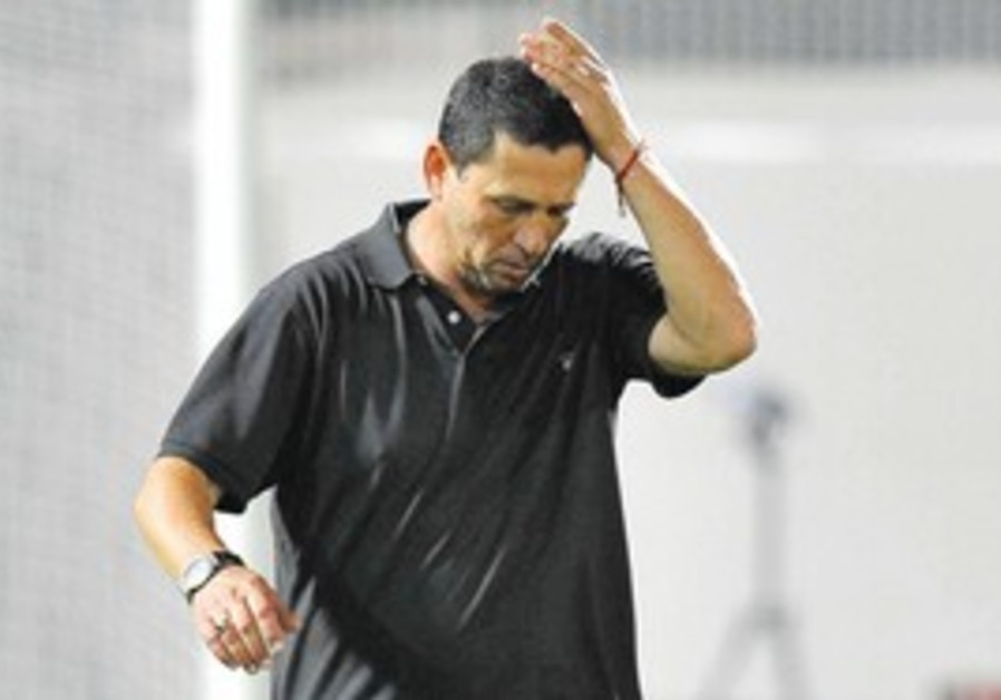 Beersheba coach Nir Klinger