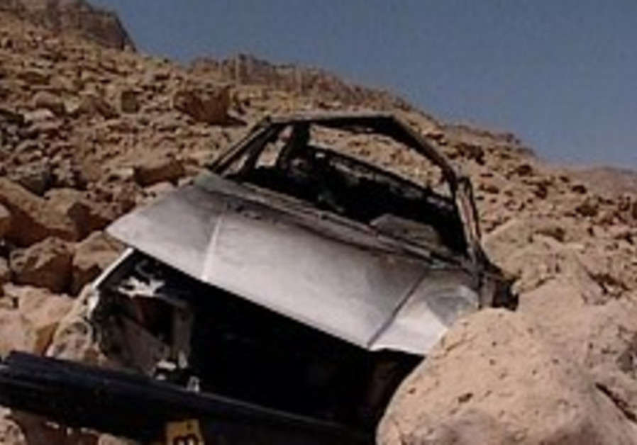 Police: Man faked crash, killed family