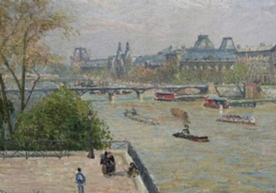 CAMILLE PISSARO's Le Louvre