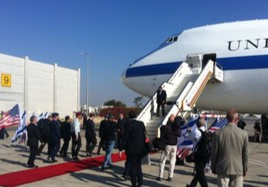 Panetta arrives in Israel