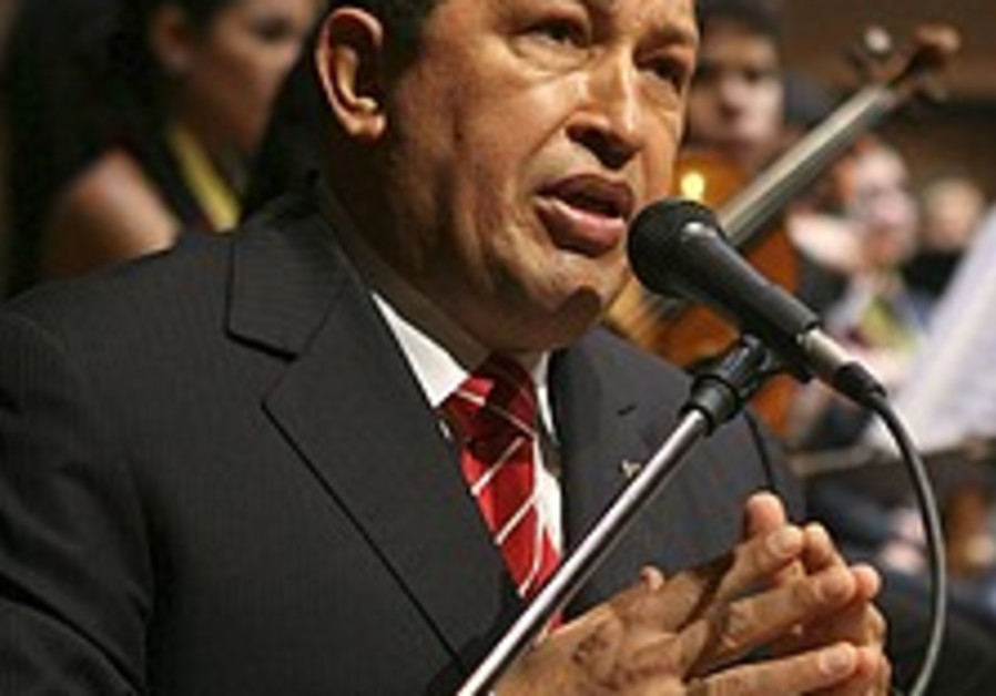 Chavez puts relations with Colombia 'in the freezer'