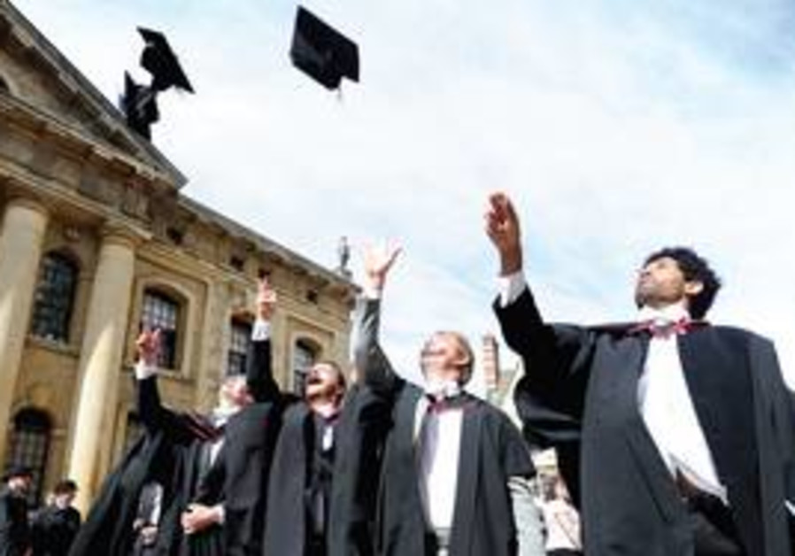 Graduation at Oxford University [file]