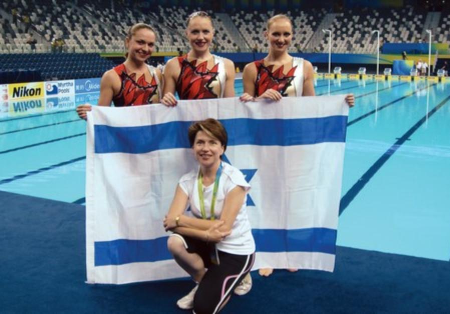 Israeli swimmers at 14th FINA World Championships