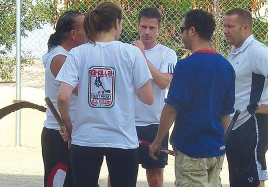 Jerusalem street hockey team