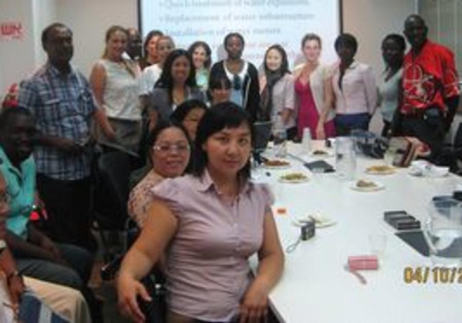 Int'l participants in enviro-technology cou