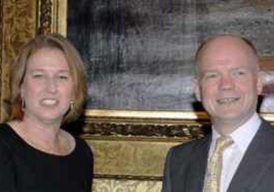 Livni and Hague