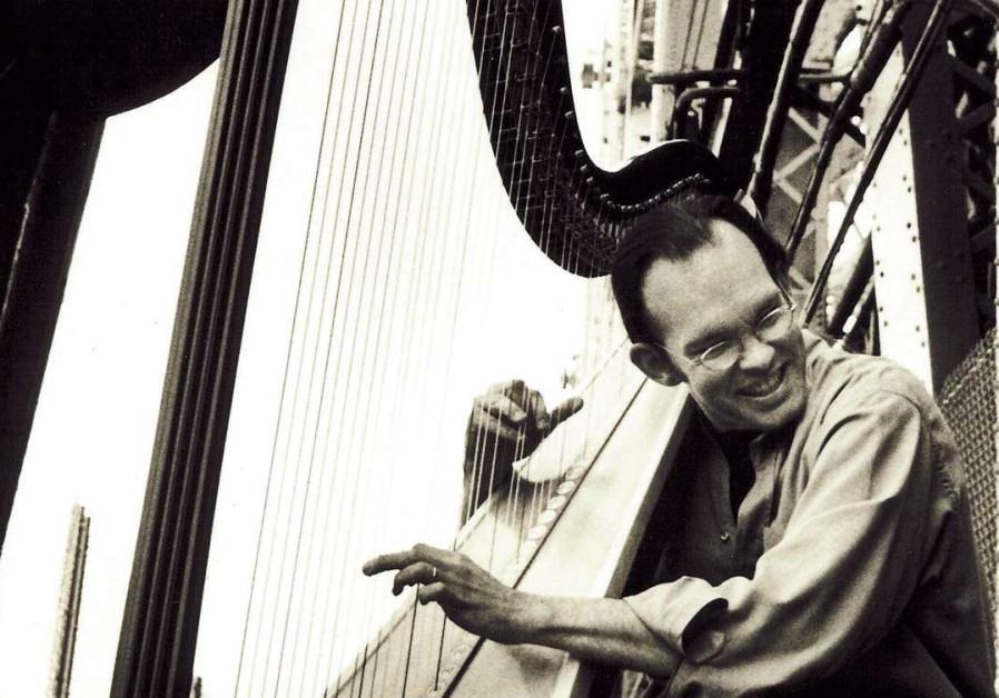 American harp player Park Stickney