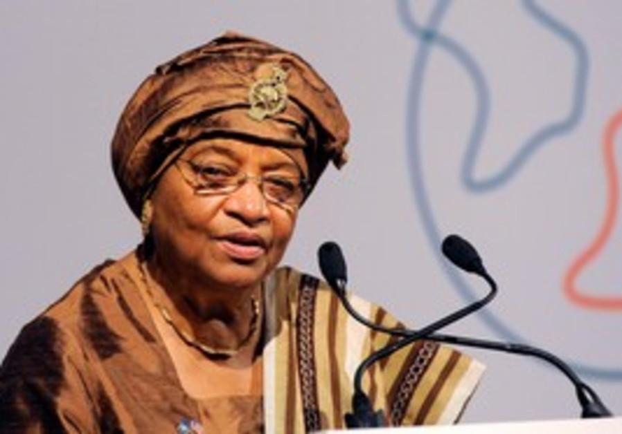 President of Liberia, Ellen Johnson-Sirleaf