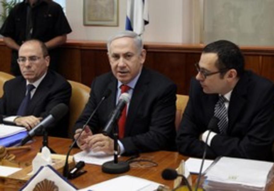 PM Netanyahu in cabinet meeting