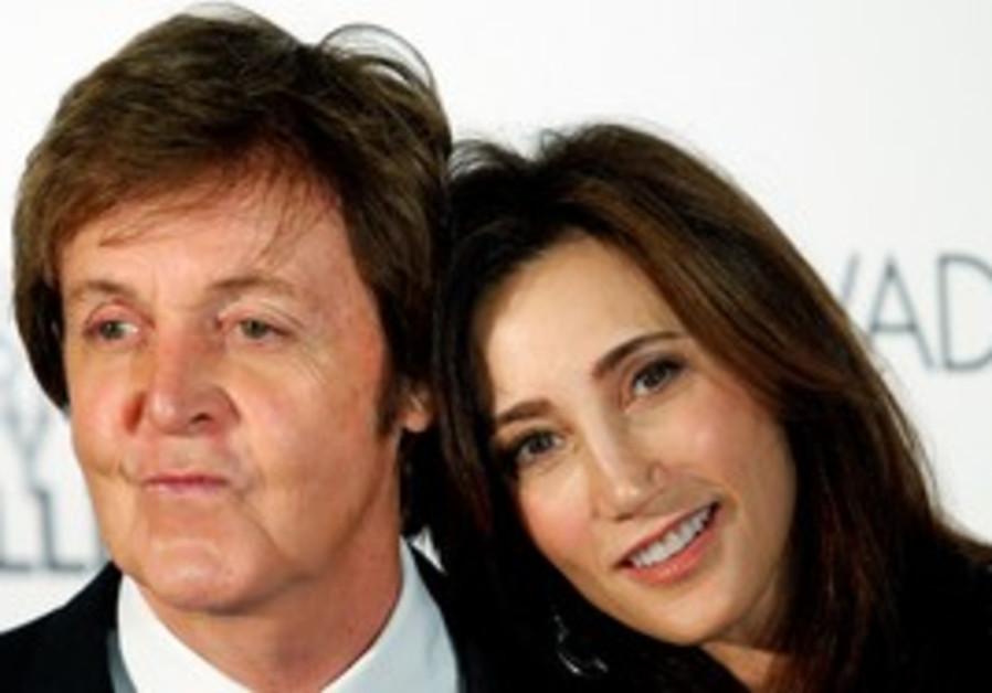 Paul McCartney and Jewish New Yorker Nancy Shevell