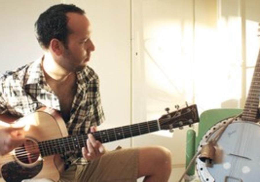 Avant garde guitarist Ido Bukelman