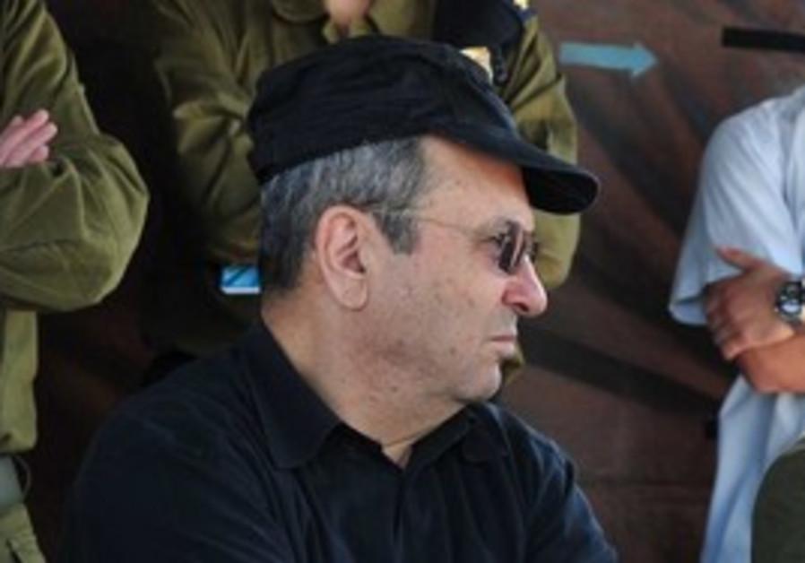 Defense Minister Ehud Barak [file photo]