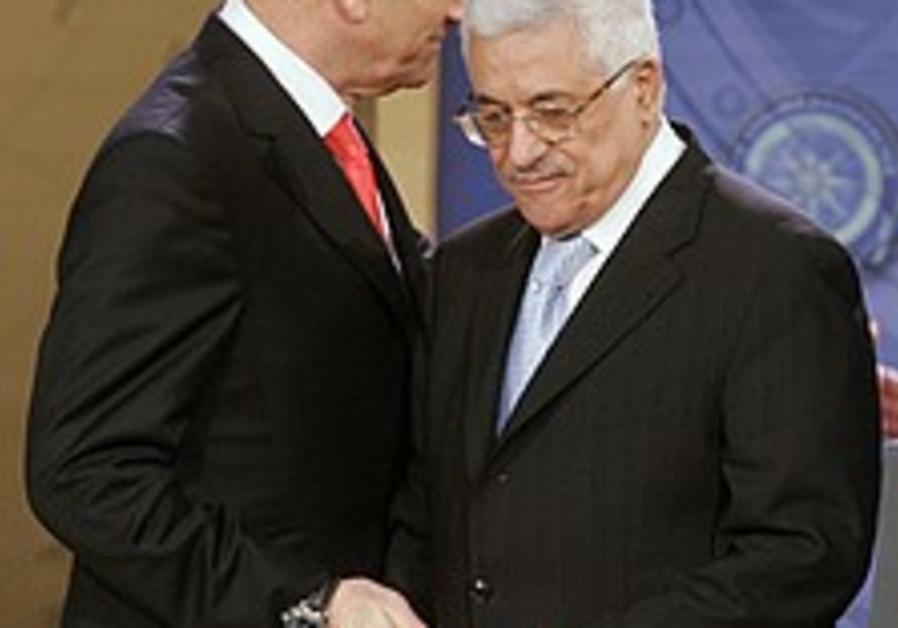 Olmert blames PA for failed peace talks