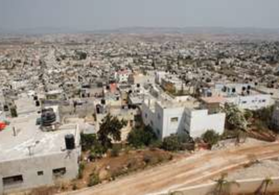 The Jenin refugee camp