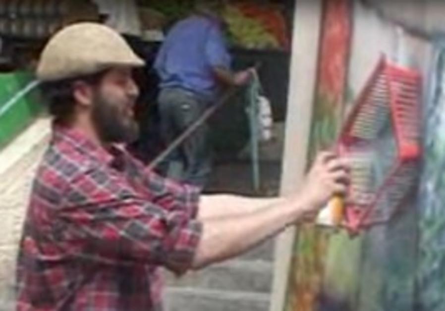 art in Mahane Yehuda
