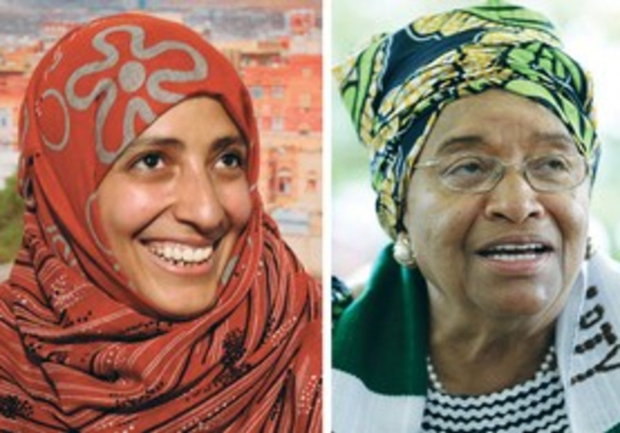 2011 Nobel Peace Prize winners