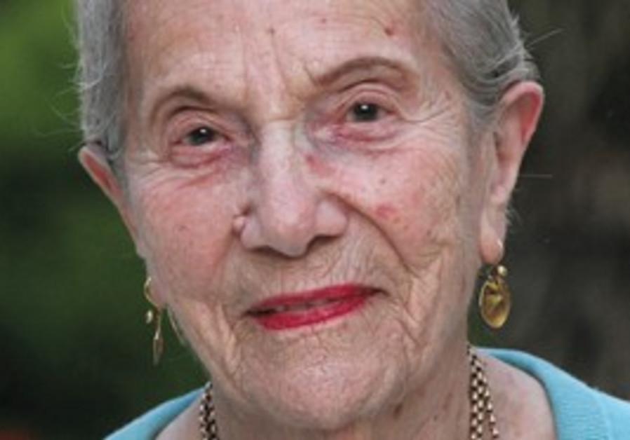 Esta Lefton, 91, in Jerusalem.