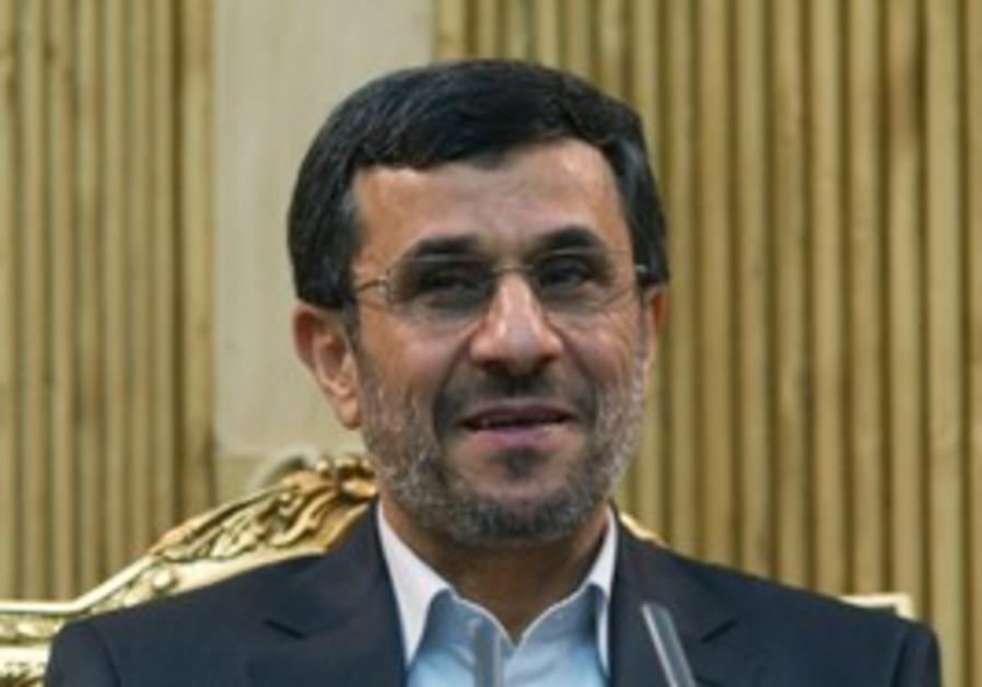 Iranian President Mahmoud Ahmadinejad [file]