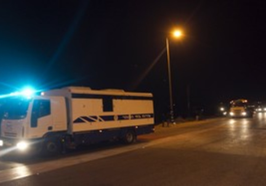 Ketziot Palestinian prisoner convoys