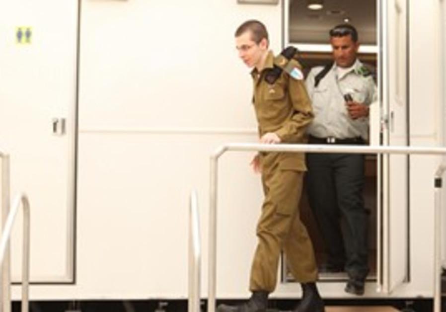 Gilad Schalit in IDF uniform after release