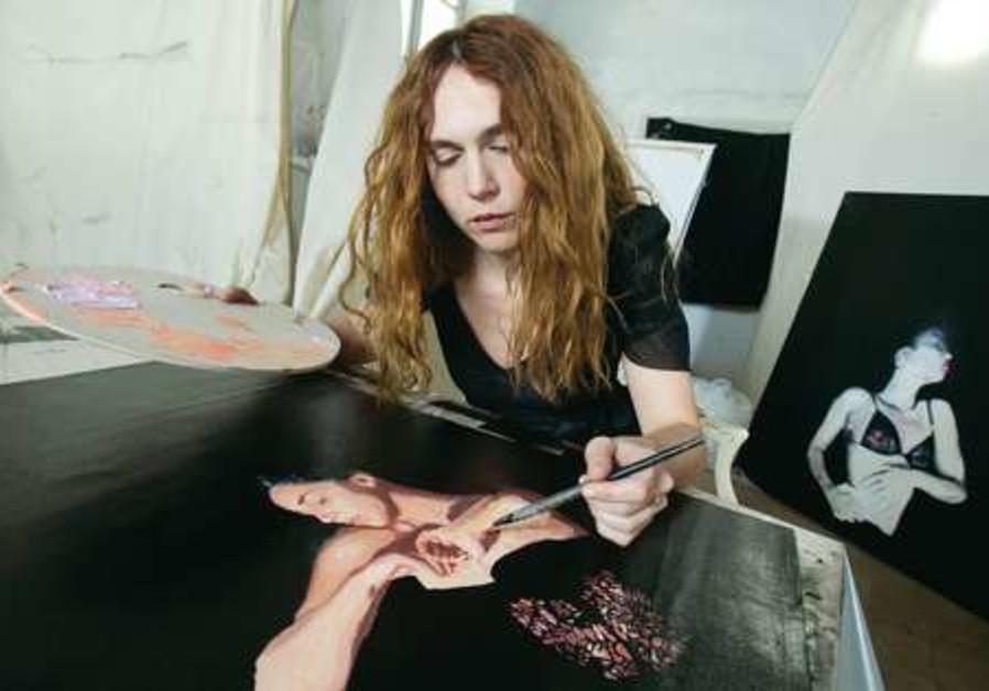 Painter Rachel Yedid
