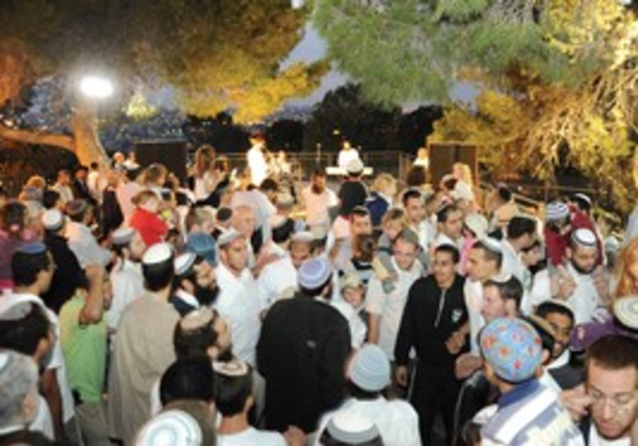 Succot celebration at Beit Orot.
