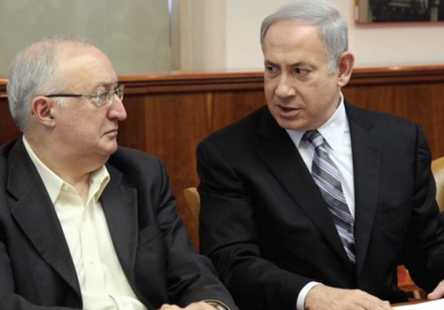 PM Netanyahu  with Prof. Manuel Trajtenberg