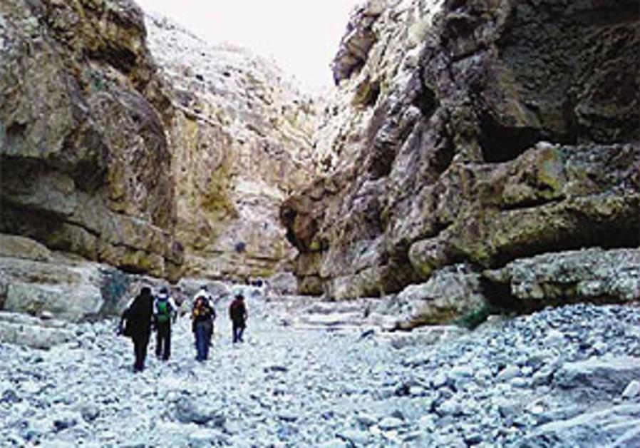 Follow the footsteps of Bar Kochba through winding