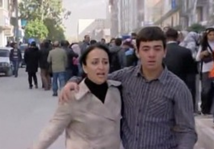 Earthquake in Turkey.