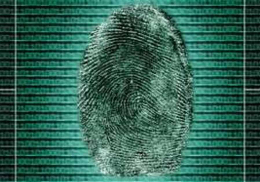 Biometric fingerprint [illustrative]