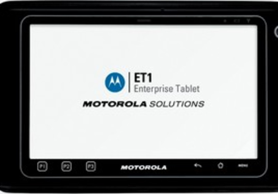 Motorola Solutions tablet