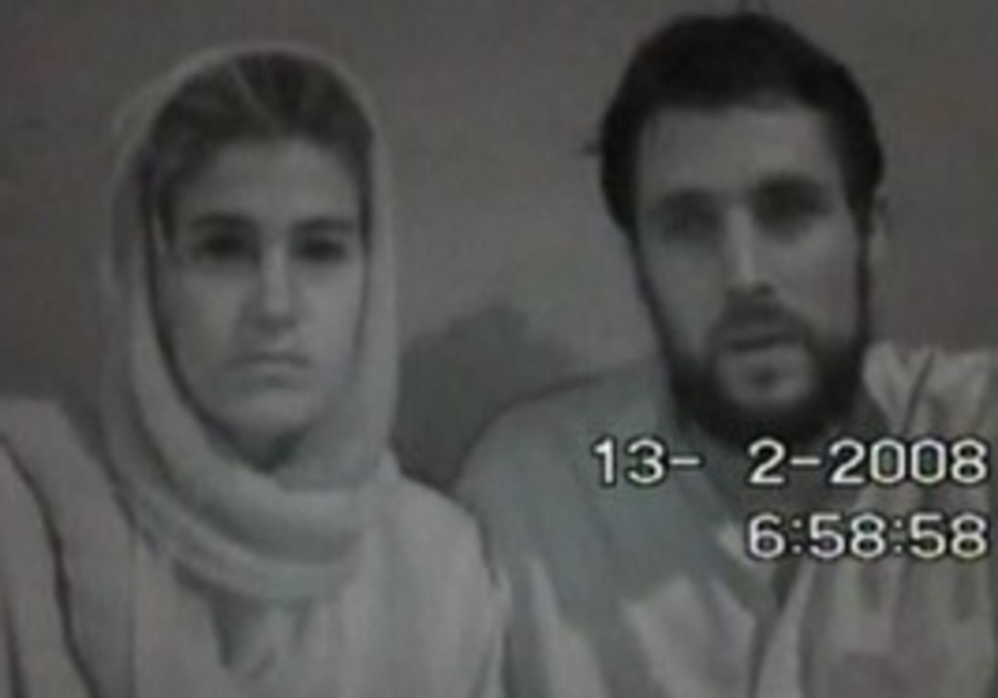 Kidnapped Swiss couple pleads for their lives.