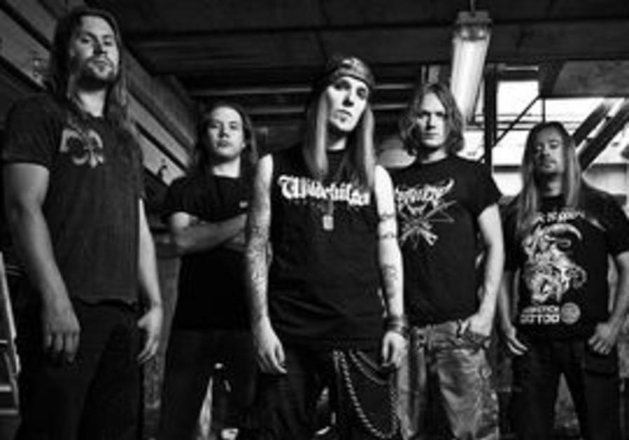 Children of Bodom will be in Tel Aviv on Nov. 3