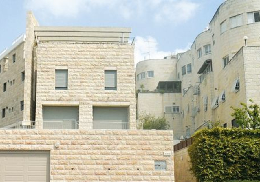 Talpiot neighborhood in Jerusalem.