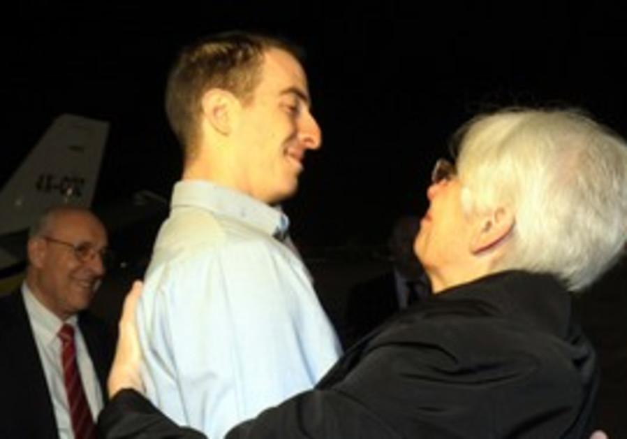Ilan Grapel reunited with his mother as Ben-Gurion