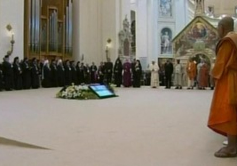World religious leaderes gather in Vatican.