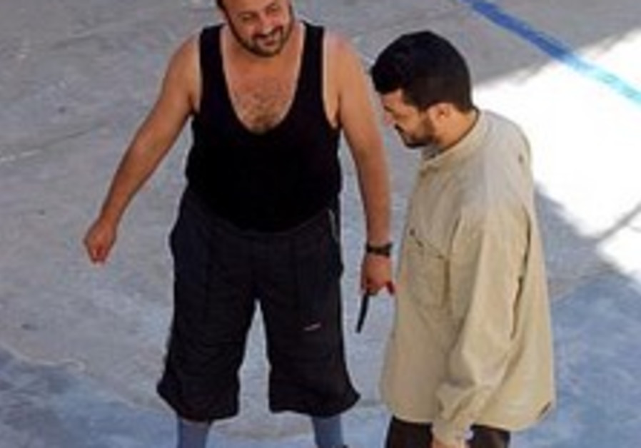 Barghouti mocks release of prisoners